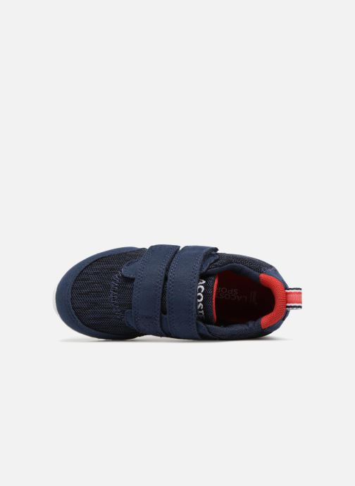 Trainers Lacoste L.IGHT 118 4 Inf Blue view from the left