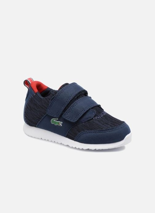Trainers Lacoste L.IGHT 118 4 Inf Blue detailed view/ Pair view