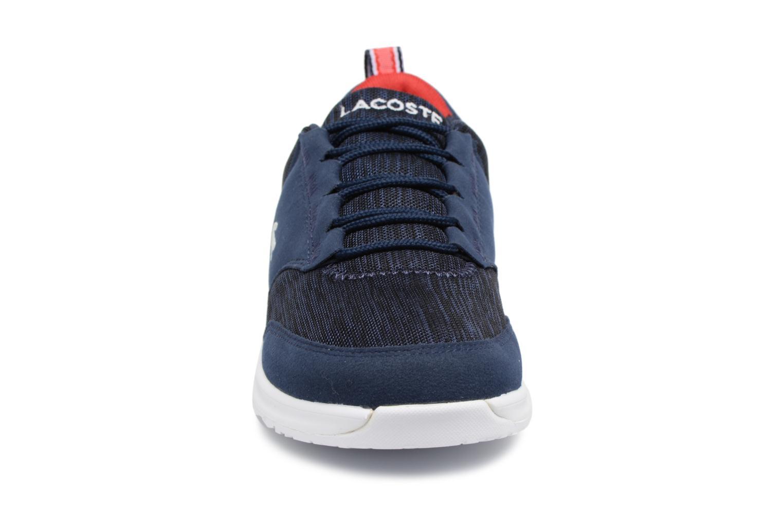 Baskets Lacoste L.IGHT 118 4 Junior Bleu vue portées chaussures