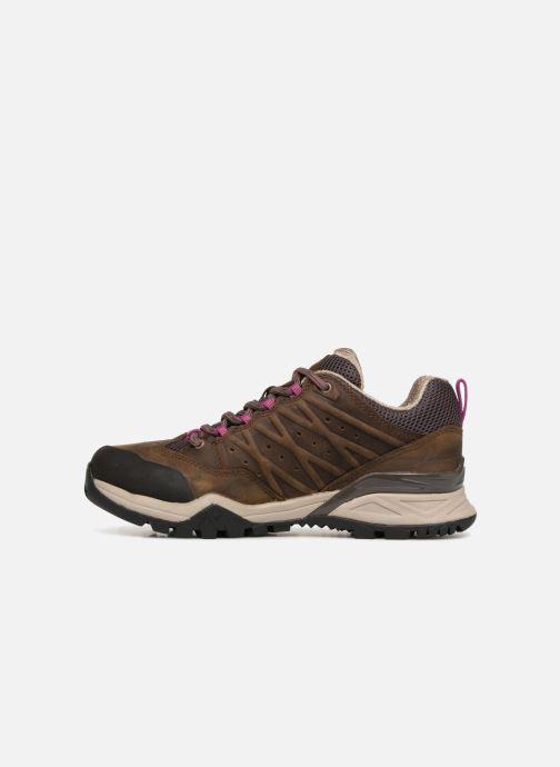Chaussures de sport The North Face Hedgehog Hike II GTX W Marron vue face