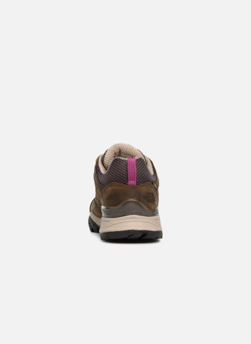 Chaussures de sport The North Face Hedgehog Hike II GTX W Marron vue droite