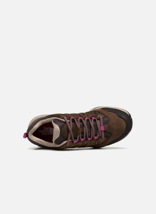 Chaussures de sport The North Face Hedgehog Hike II GTX W Marron vue gauche