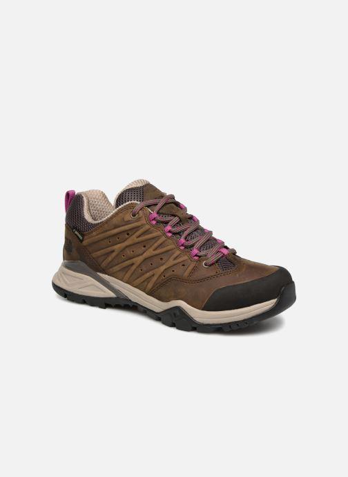 Chaussures de sport The North Face Hedgehog Hike II GTX W Marron vue détail/paire