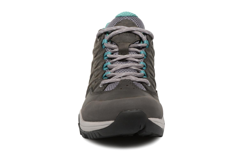 Chaussures de sport The North Face Hedgehog Hike II GTX W Gris vue portées chaussures