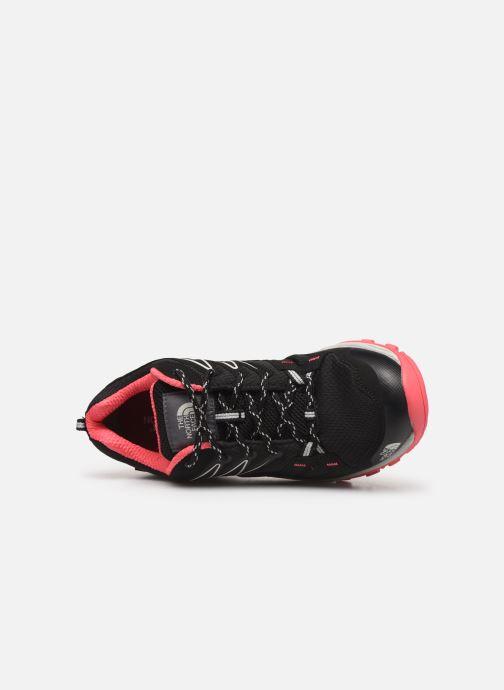 Chaussures de sport The North Face Hedgehog Fastpack GTX W Noir vue gauche