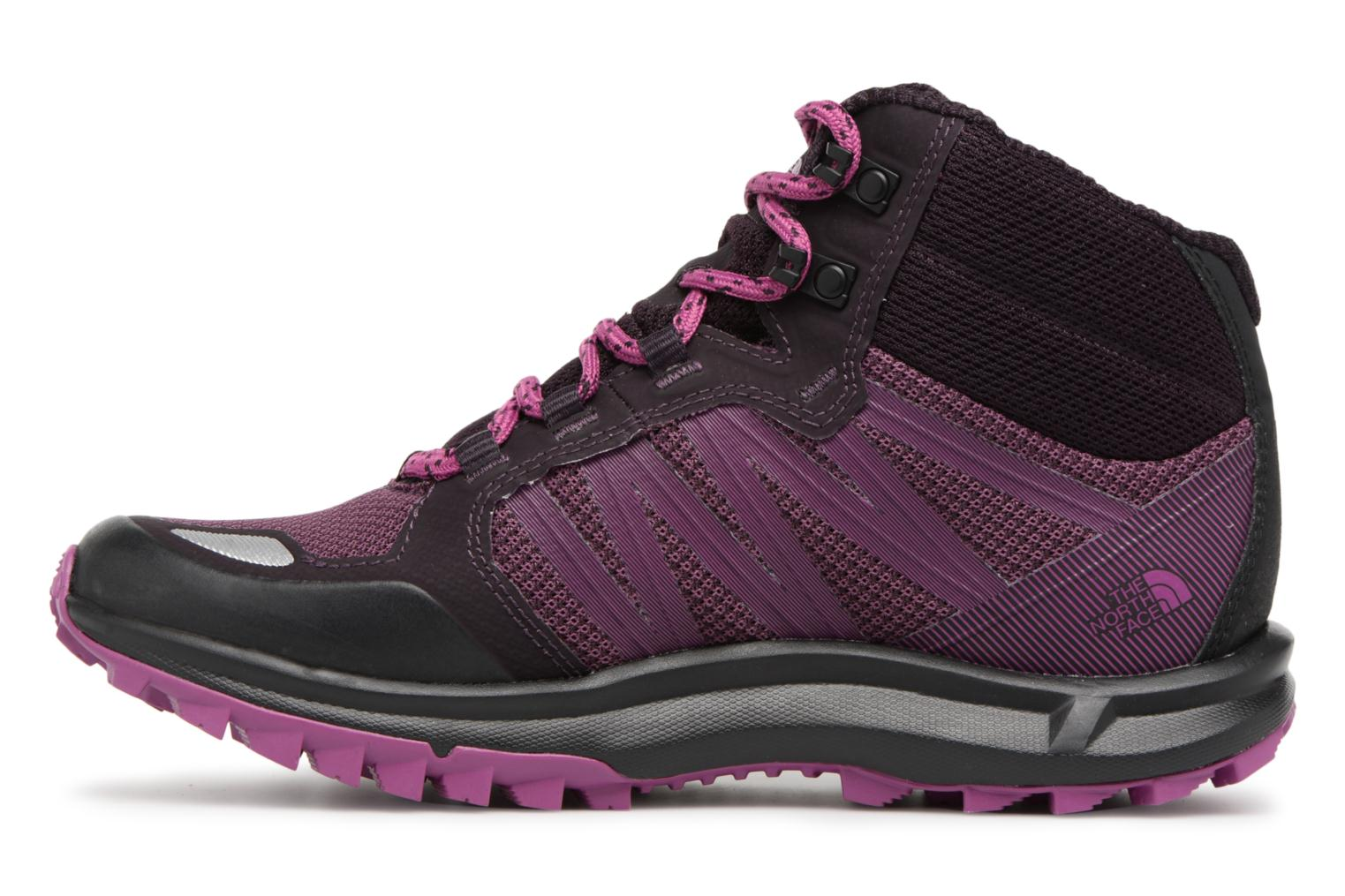 Chaussures de sport The North Face Litewave Faastpack Mid GTX W Violet vue face