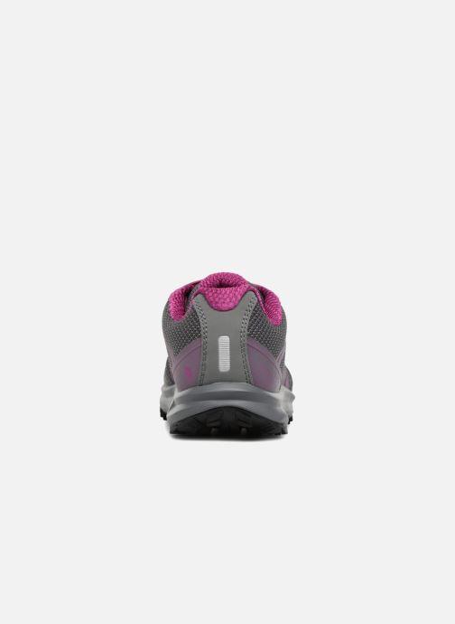 Chaussures de sport The North Face Litewave Fastpack W Gris vue droite