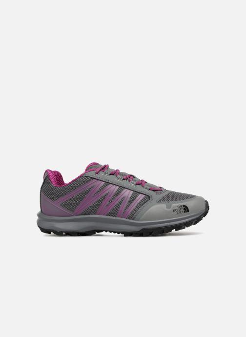 Chaussures de sport The North Face Litewave Fastpack W Gris vue derrière