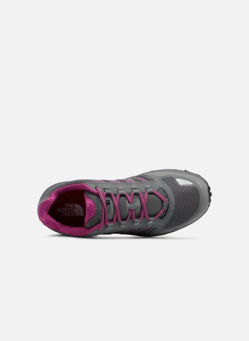 Zapatillas de deporte The North Face Litewave Fastpack W Gris vista lateral izquierda