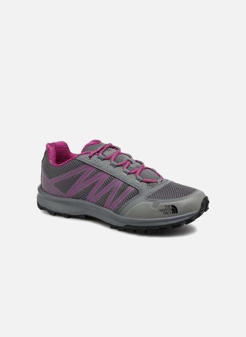 Chaussures de sport The North Face Litewave Fastpack W Gris vue détail/paire
