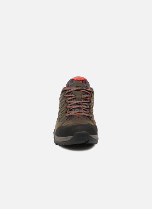 Chaussures de sport The North Face Hedgehog Hike II GTX M Marron vue portées chaussures
