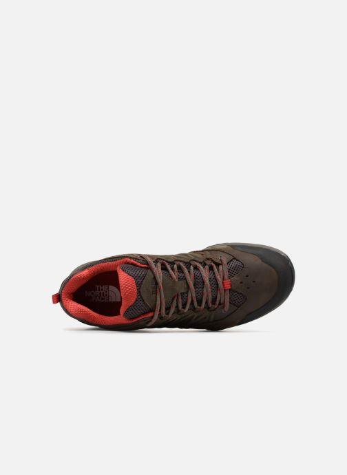 Chaussures de sport The North Face Hedgehog Hike II GTX M Marron vue gauche