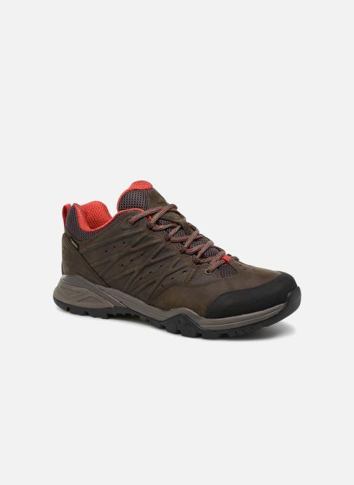 Chaussures de sport The North Face Hedgehog Hike II GTX M Marron vue détail/paire