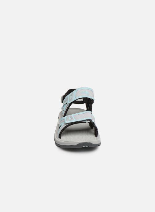Chaussures de sport The North Face Hedgehog Sandal II W Gris vue portées chaussures