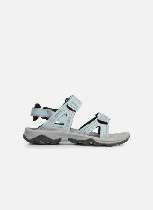 Chaussures de sport The North Face Hedgehog Sandal II W Gris vue derrière