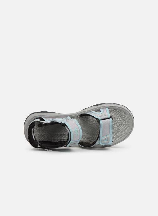 Chaussures de sport The North Face Hedgehog Sandal II W Gris vue gauche