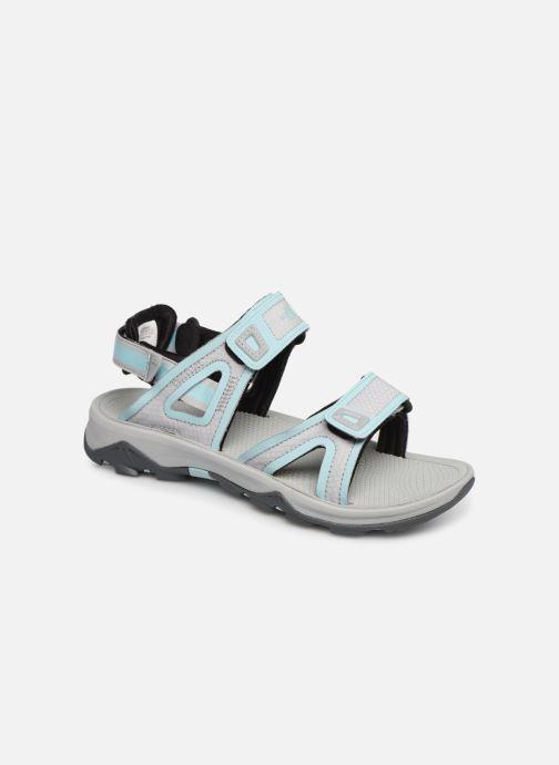Chaussures de sport The North Face Hedgehog Sandal II W Gris vue détail/paire
