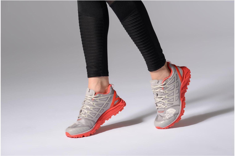 Chaussures de sport The North Face Ultra Endurance II W Gris vue bas / vue portée sac