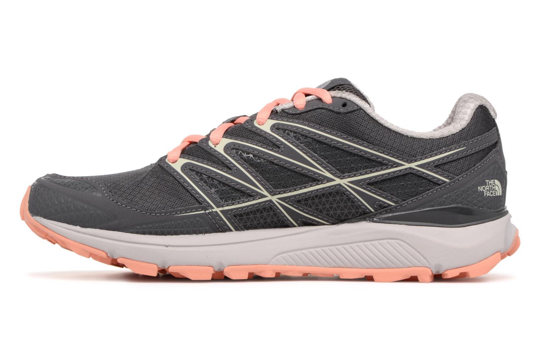 Chaussures de sport The North Face Litewave Endurance W Gris vue face