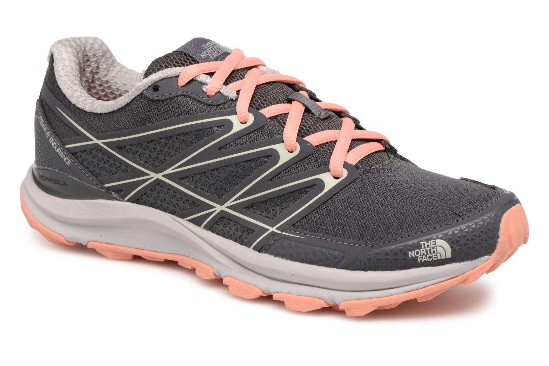 Chaussures de sport The North Face Litewave Endurance W Gris vue détail/paire