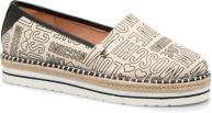 Espadrilles Dames Canvas Embossed Logo JA10083G15