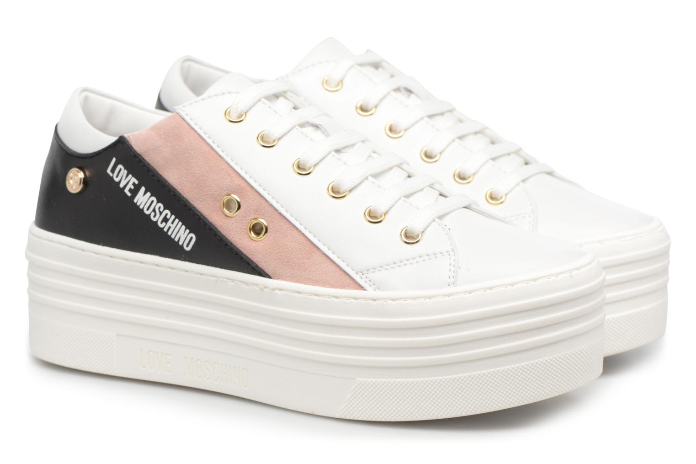 Sneakers Love Moschino Tennis JA15126G15 Wit 3/4'