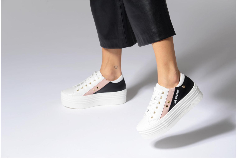 Sneakers Love Moschino Tennis JA15126G15 Wit onder