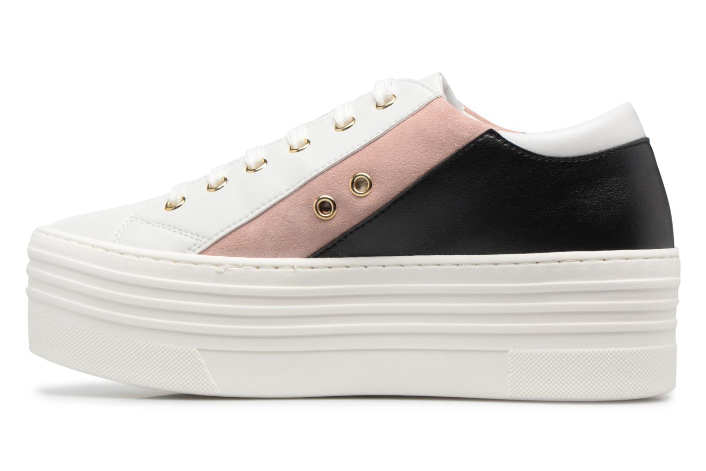 Sneakers Love Moschino Tennis JA15126G15 Wit voorkant