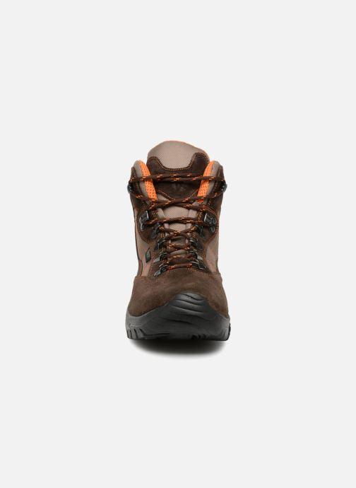 Chaussures de sport Kimberfeel FLAINE Marron vue portées chaussures