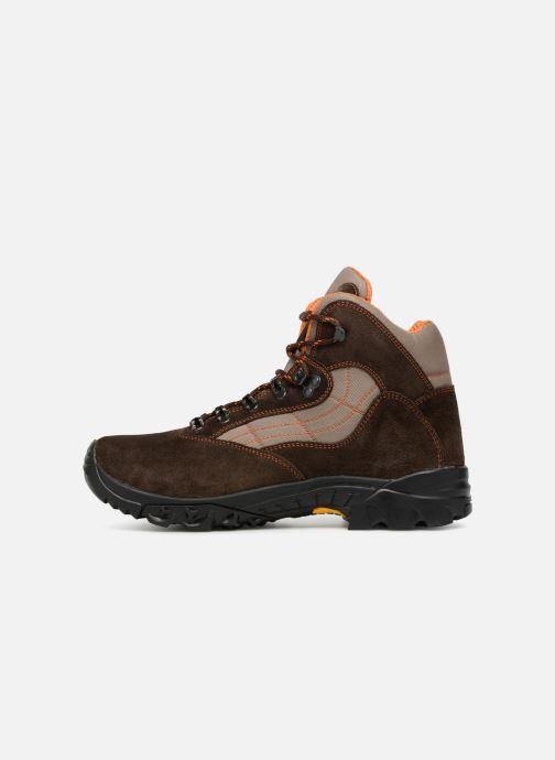 Chaussures de sport Kimberfeel FLAINE Marron vue face