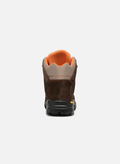 Chaussures de sport Kimberfeel FLAINE Marron vue droite
