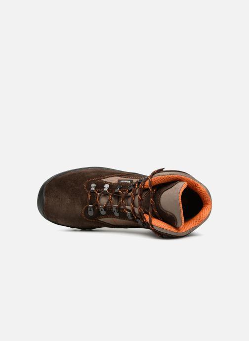 Chaussures de sport Kimberfeel FLAINE Marron vue gauche