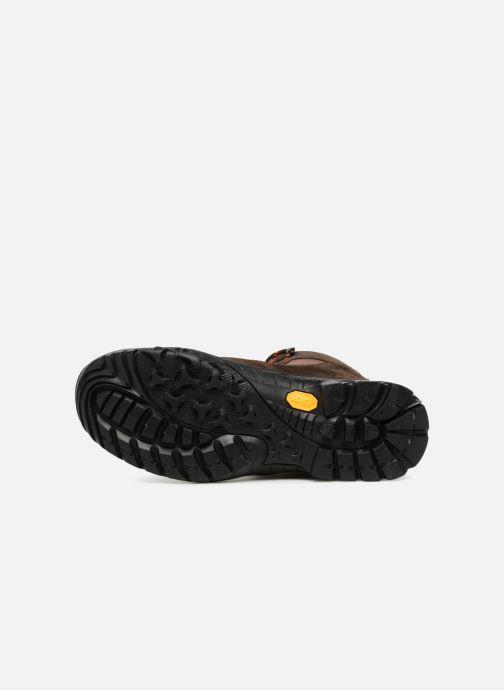Chaussures de sport Kimberfeel FLAINE Marron vue haut
