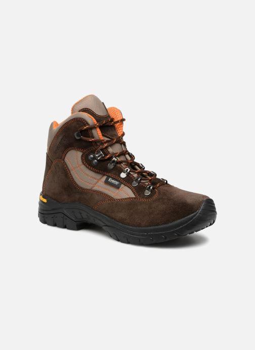 Chaussures de sport Kimberfeel FLAINE Marron vue détail/paire