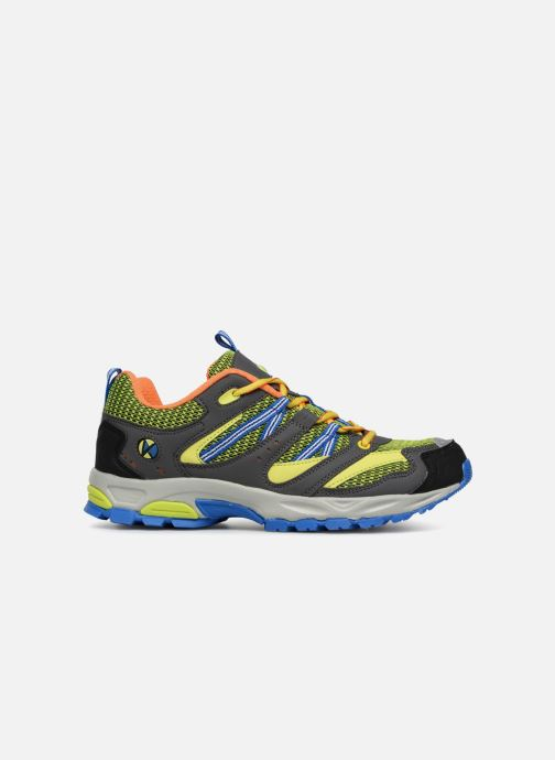 Chaussures de sport Kimberfeel Danay Jaune vue derrière