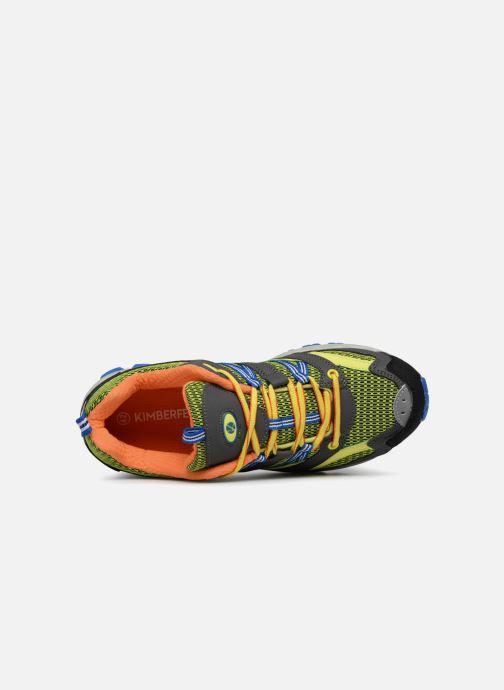 Chaussures de sport Kimberfeel Danay Jaune vue gauche