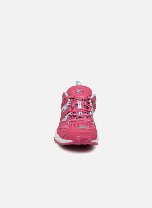 Chaussures de sport Kimberfeel DANAY Rose vue portées chaussures