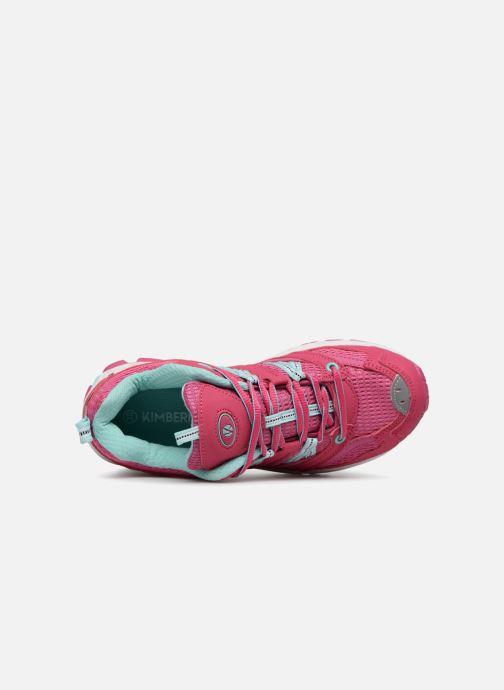 Chaussures de sport Kimberfeel DANAY Rose vue gauche