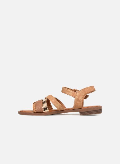 Sandales et nu-pieds I Love Shoes FITEA Size + Marron vue face