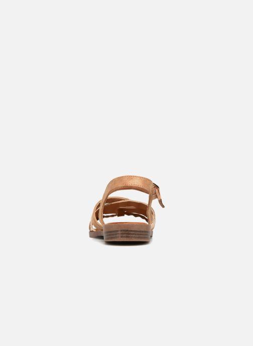 Sandalen I Love Shoes FITEA Size + braun ansicht von rechts