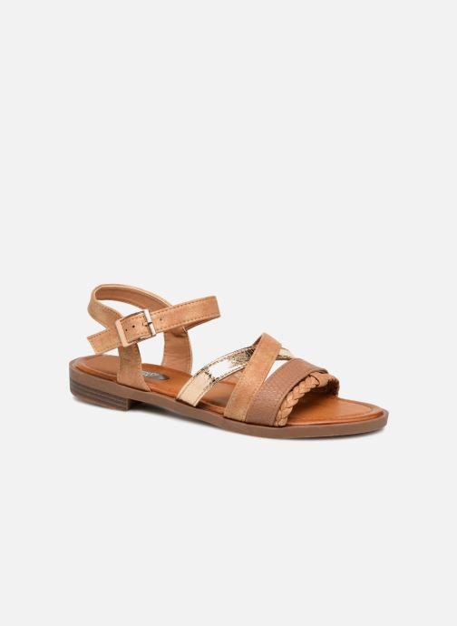 Sandales et nu-pieds I Love Shoes FITEA Size + Marron vue détail/paire
