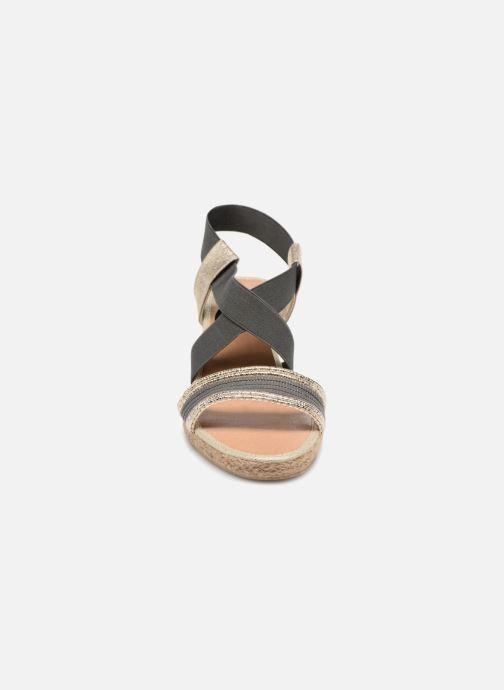 Sandales et nu-pieds I Love Shoes FITESPA Size + Noir vue portées chaussures
