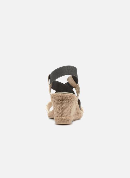 Sandales et nu-pieds I Love Shoes FITESPA Size + Noir vue droite