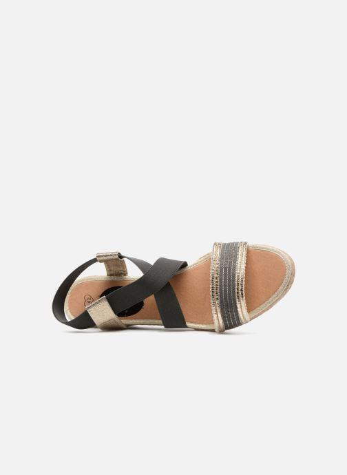 Sandales et nu-pieds I Love Shoes FITESPA Size + Noir vue gauche