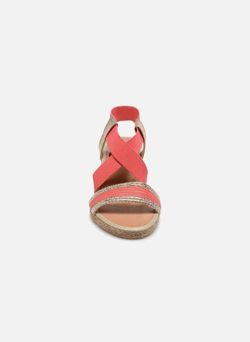 Sandales et nu-pieds I Love Shoes FITESPA Size + Orange vue portées chaussures