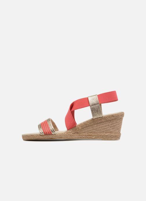 Sandales et nu-pieds I Love Shoes FITESPA Size + Orange vue face