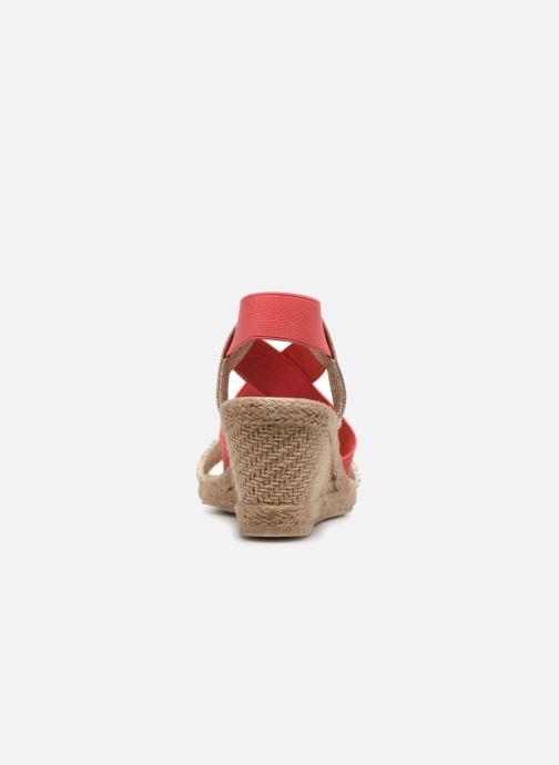 Sandales et nu-pieds I Love Shoes FITESPA Size + Orange vue droite