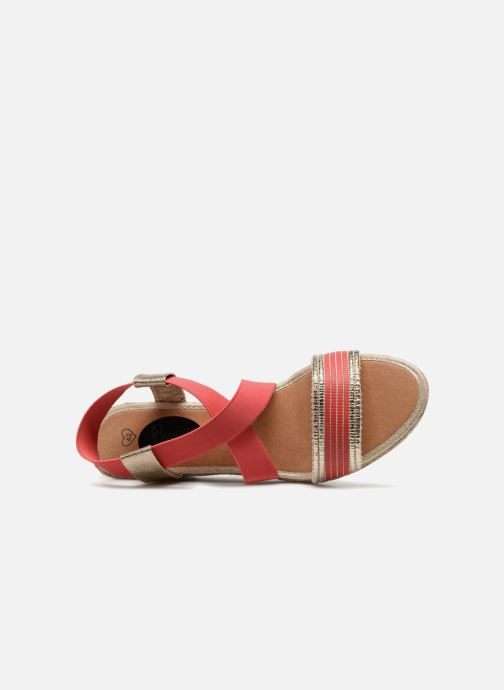 Sandales et nu-pieds I Love Shoes FITESPA Size + Orange vue gauche