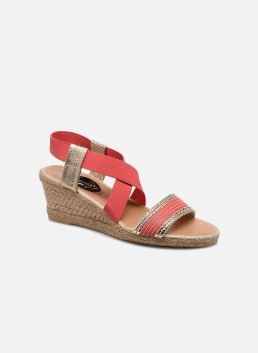 Sandales et nu-pieds I Love Shoes FITESPA Size + Orange vue détail/paire