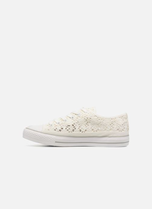 Baskets I Love Shoes FITEBA Size + Blanc vue face